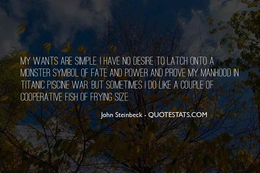 Quotes About Steinbeck #66812