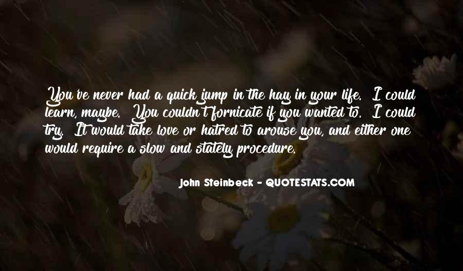 Quotes About Steinbeck #67800