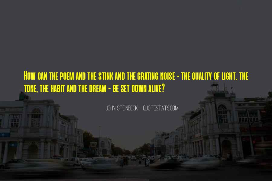 Quotes About Steinbeck #86993