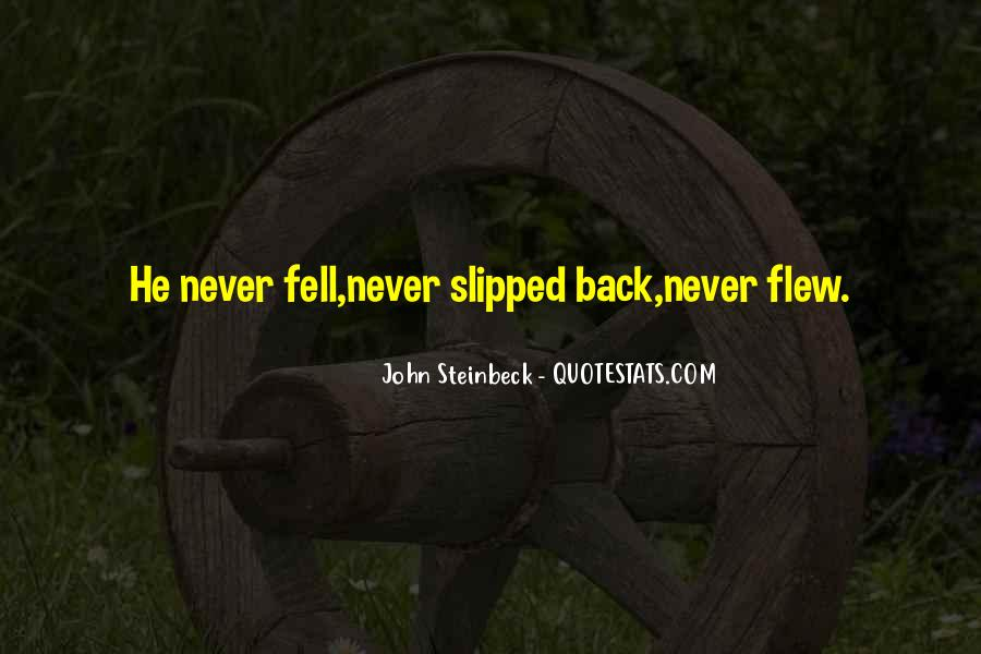Quotes About Steinbeck #89463