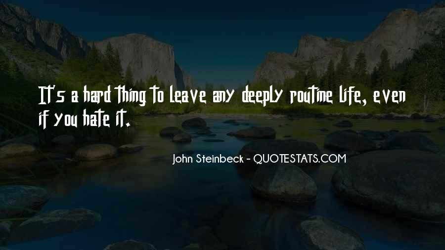 Quotes About Steinbeck #95100