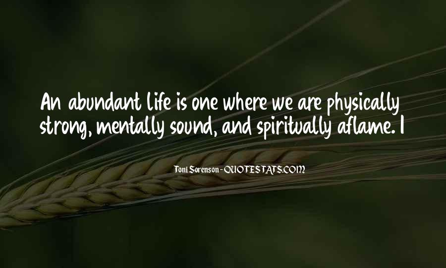 Quotes About Health And Spirituality #1675545
