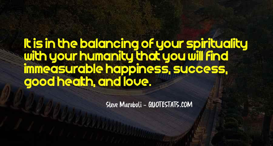 Quotes About Health And Spirituality #73320