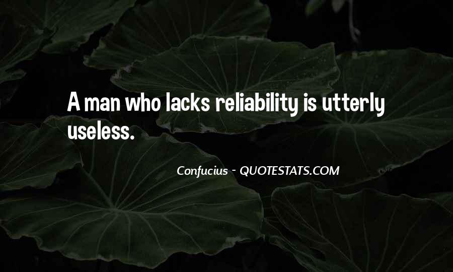 Quotes About Useless Man #1238639