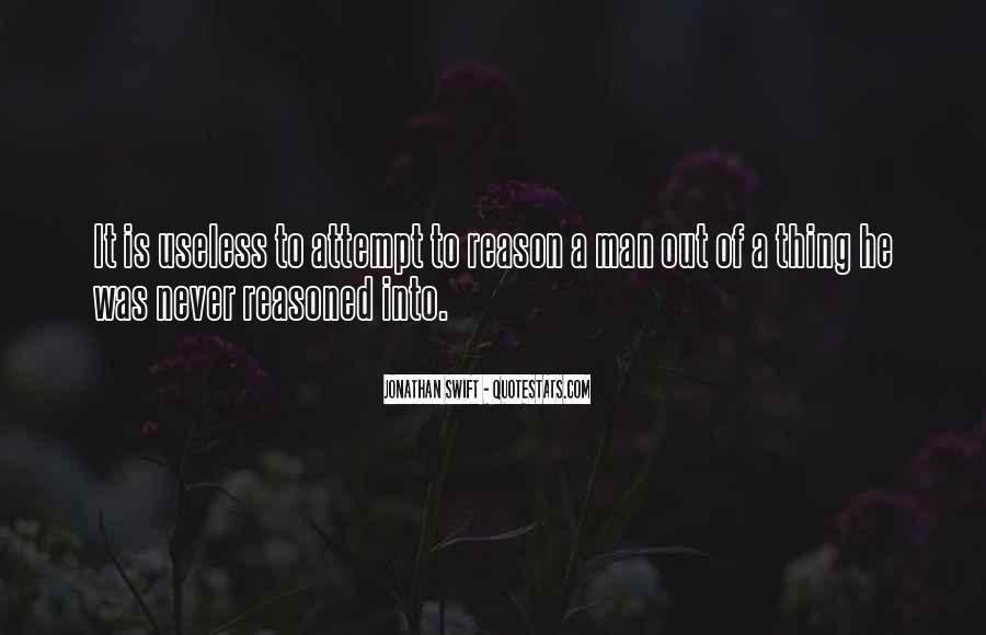 Quotes About Useless Man #1455695