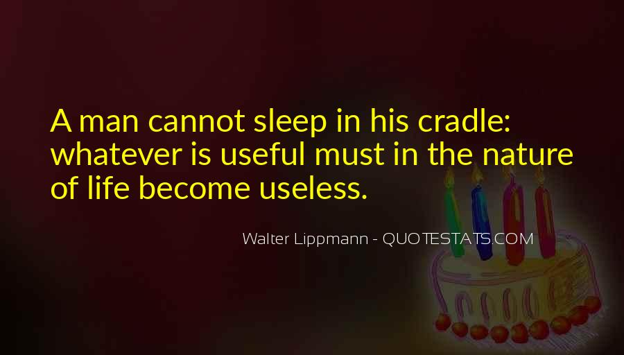 Quotes About Useless Man #1529832