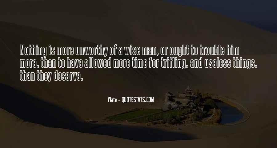 Quotes About Useless Man #1670127