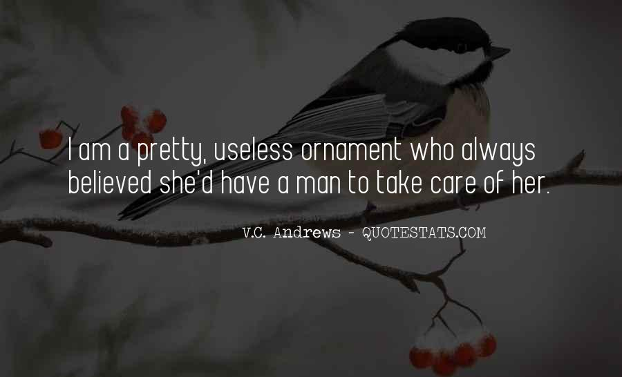 Quotes About Useless Man #1821229