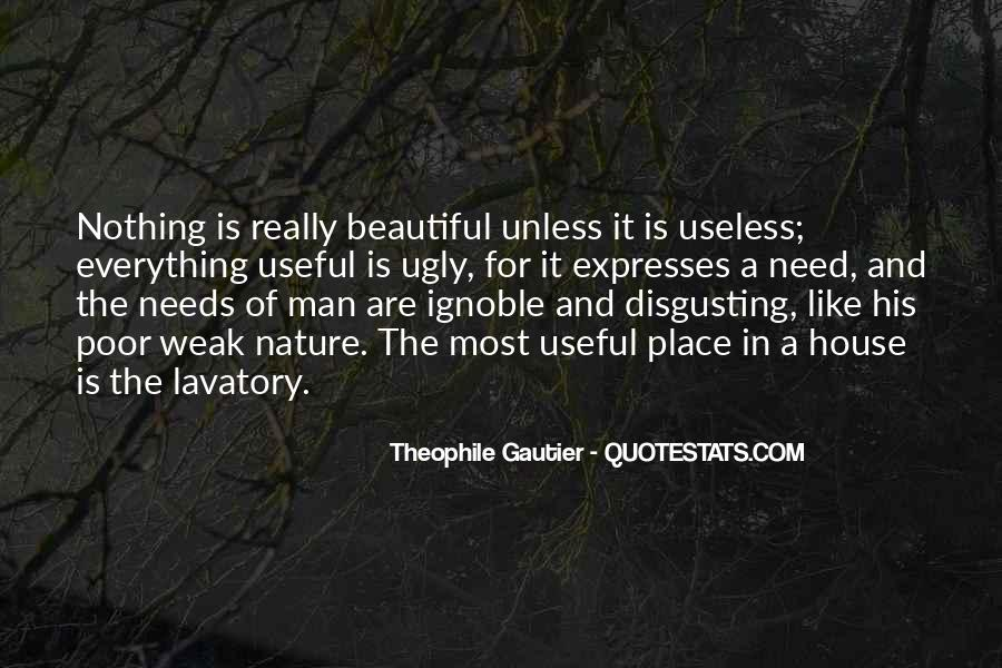 Quotes About Useless Man #1862119