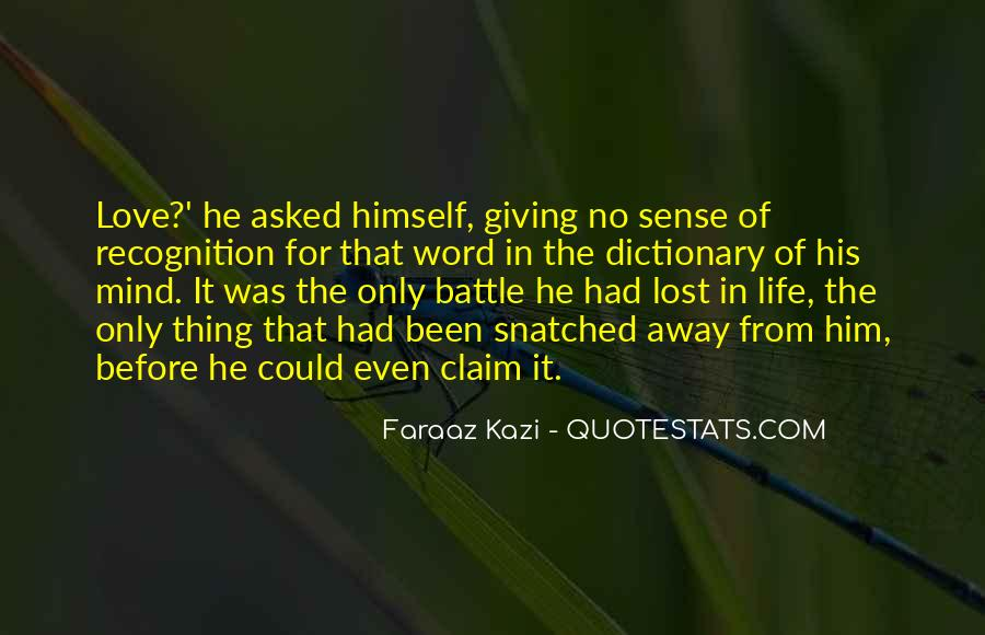 Quotes About Giving Up On Love And Life #163312