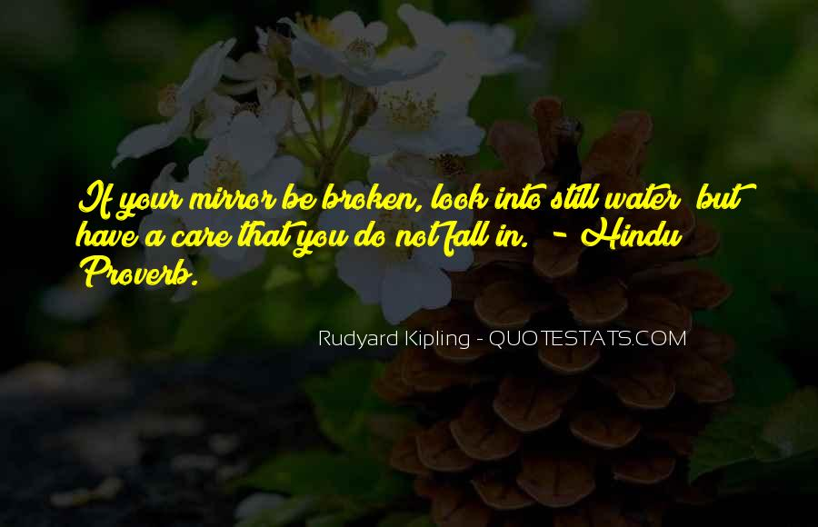 Quotes About A Broken Mirror #234502