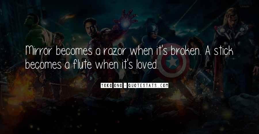 Quotes About A Broken Mirror #53339