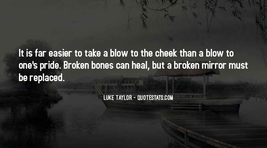 Quotes About A Broken Mirror #599645