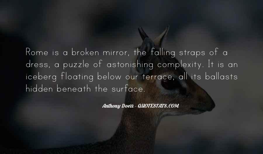 Quotes About A Broken Mirror #823039