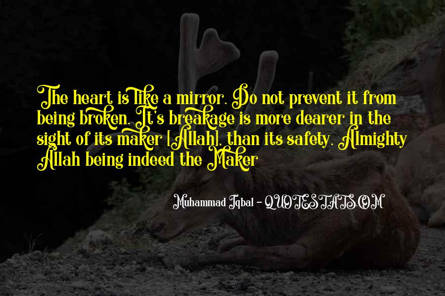 Quotes About A Broken Mirror #850064