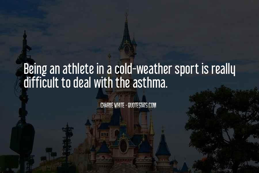 Quotes About Being A Sport #1545099