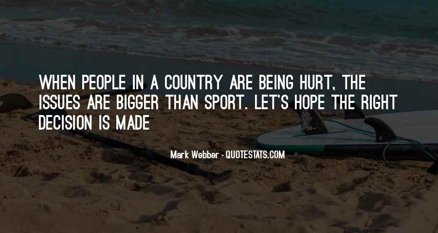 Quotes About Being A Sport #712331