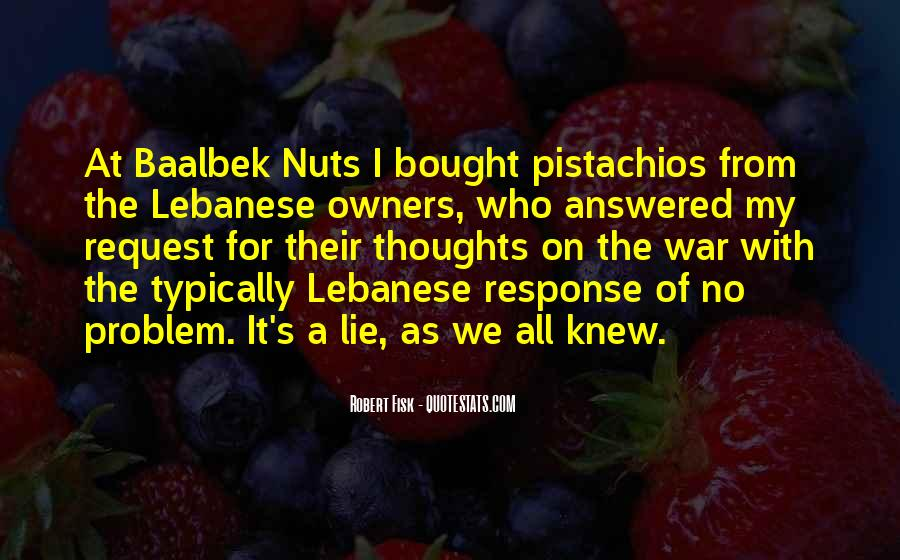 Quotes About Pistachios #1583547