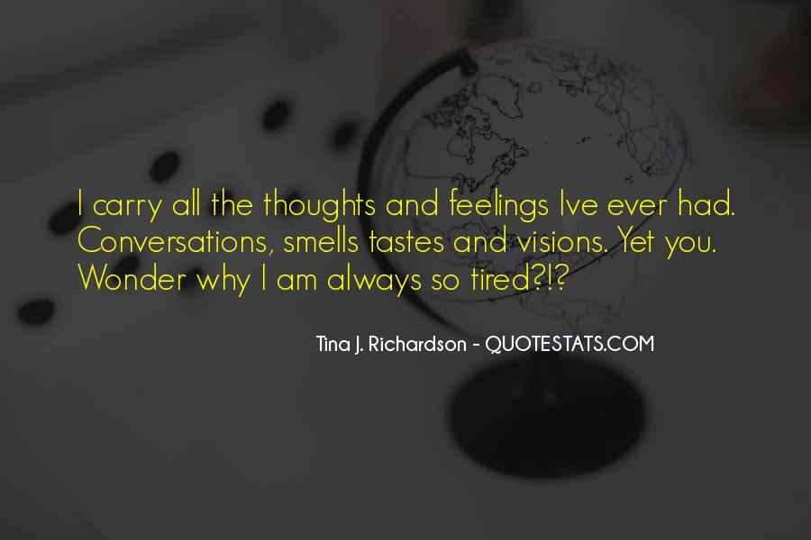 Quotes About Sensory Processing #1730644