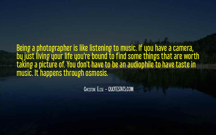 Quotes About Life Is Like Music #1107665