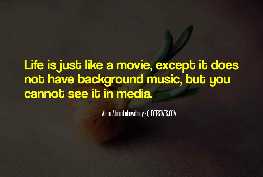Quotes About Life Is Like Music #1136159