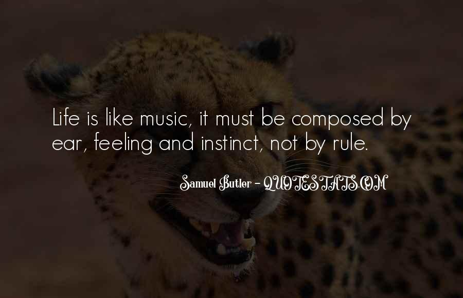 Quotes About Life Is Like Music #1235430