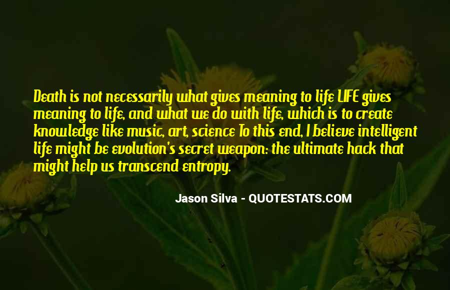 Quotes About Life Is Like Music #1431963