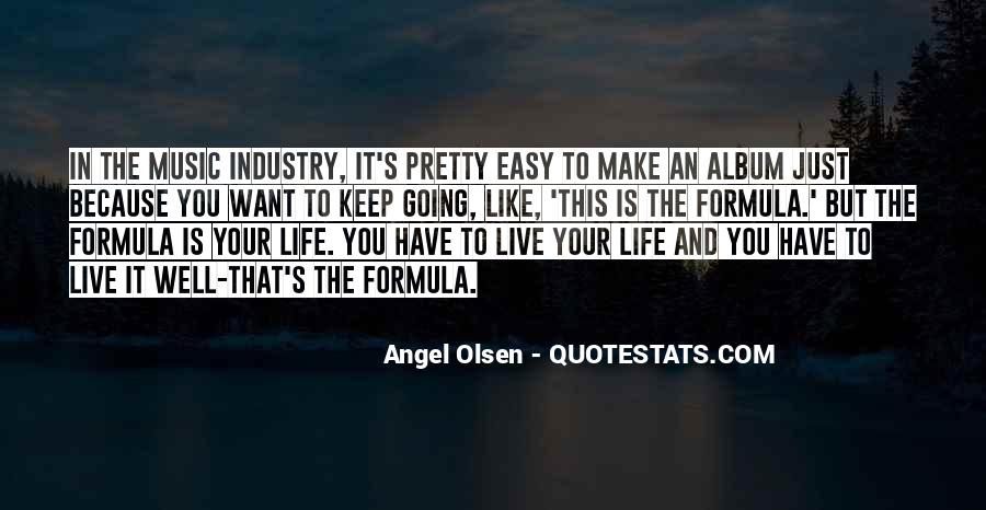 Quotes About Life Is Like Music #1528218
