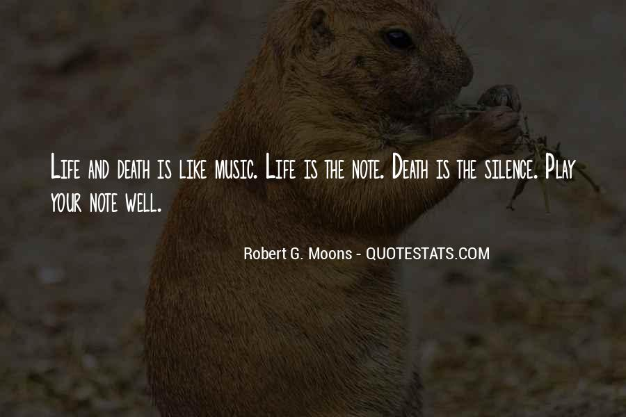 Quotes About Life Is Like Music #1591922