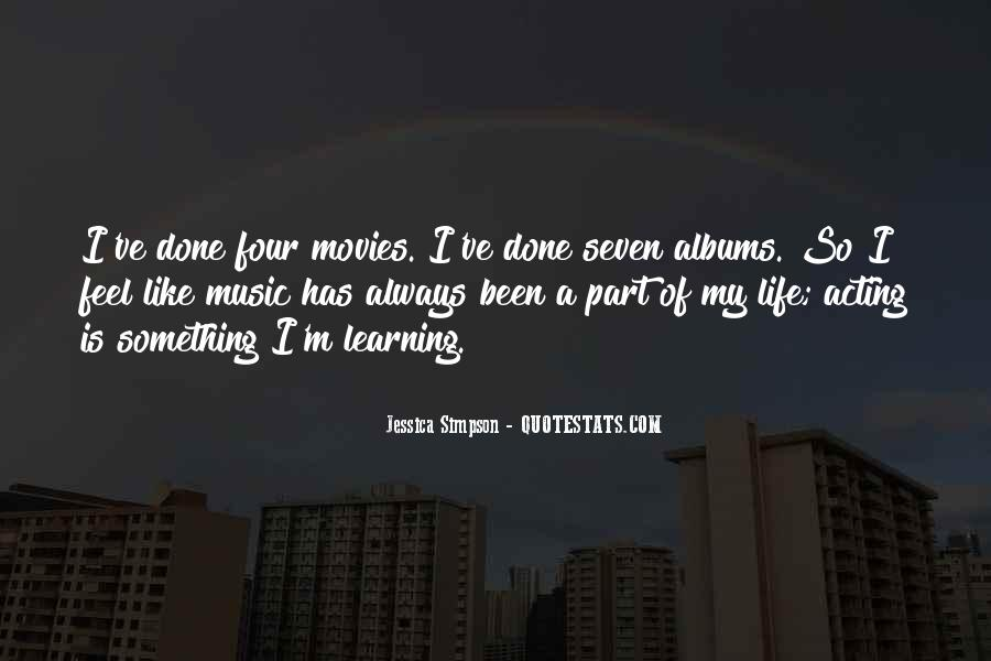 Quotes About Life Is Like Music #740782