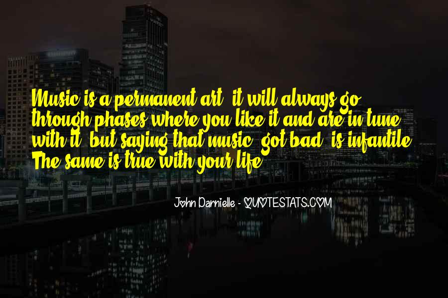 Quotes About Life Is Like Music #864885