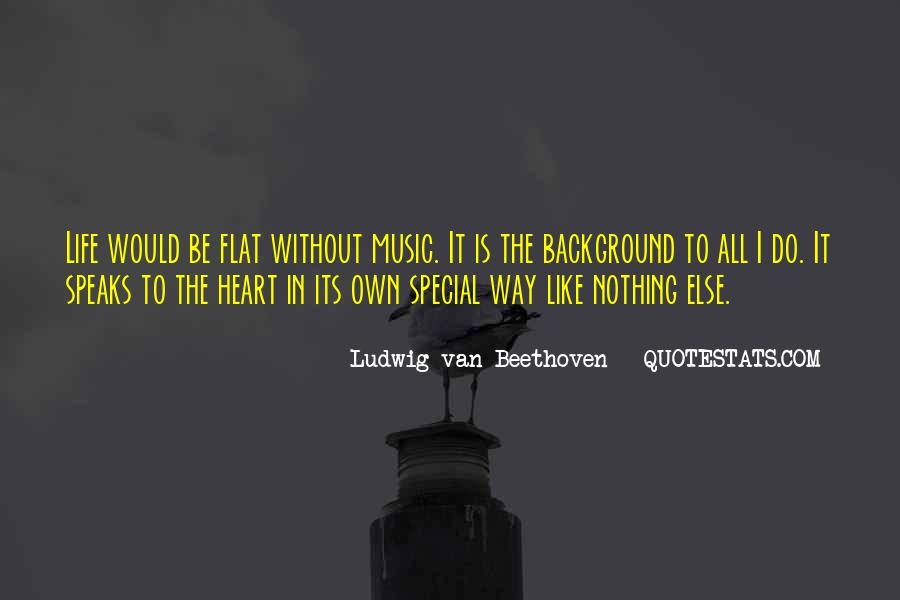Quotes About Life Is Like Music #933037