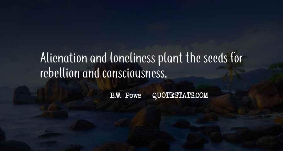 Quotes About Alienation #161361