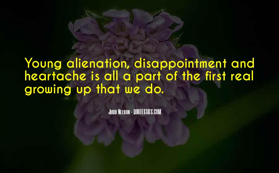 Quotes About Alienation #410870