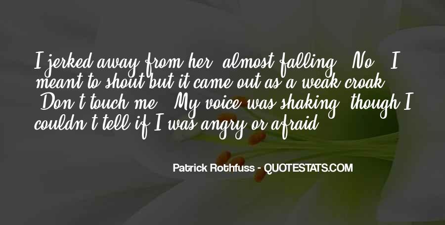 Quotes About Shaking It Off #24997
