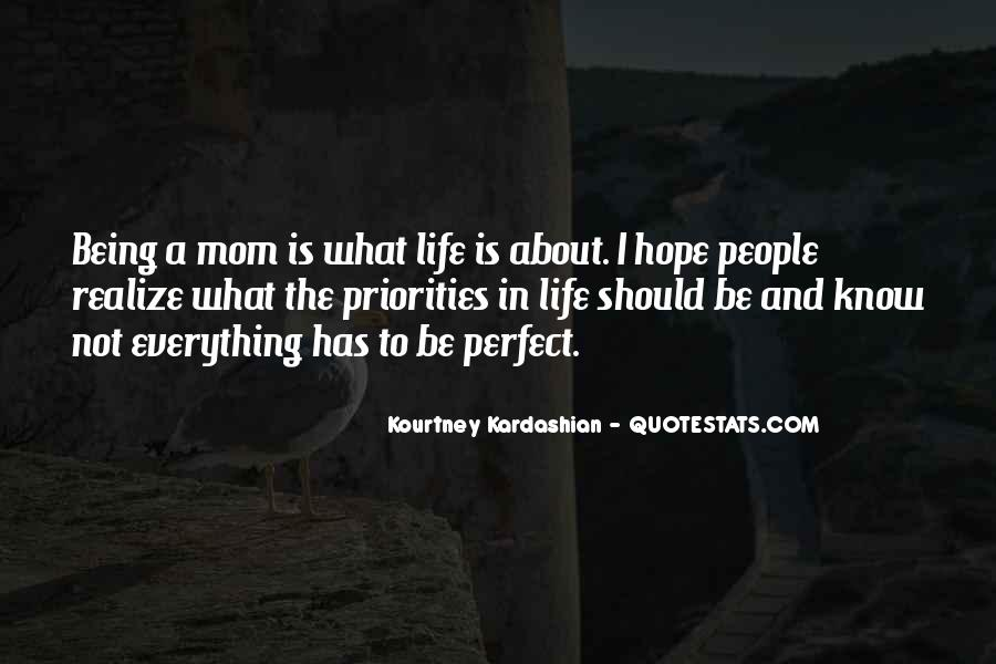 Quotes About My Life Not Being Perfect #749211