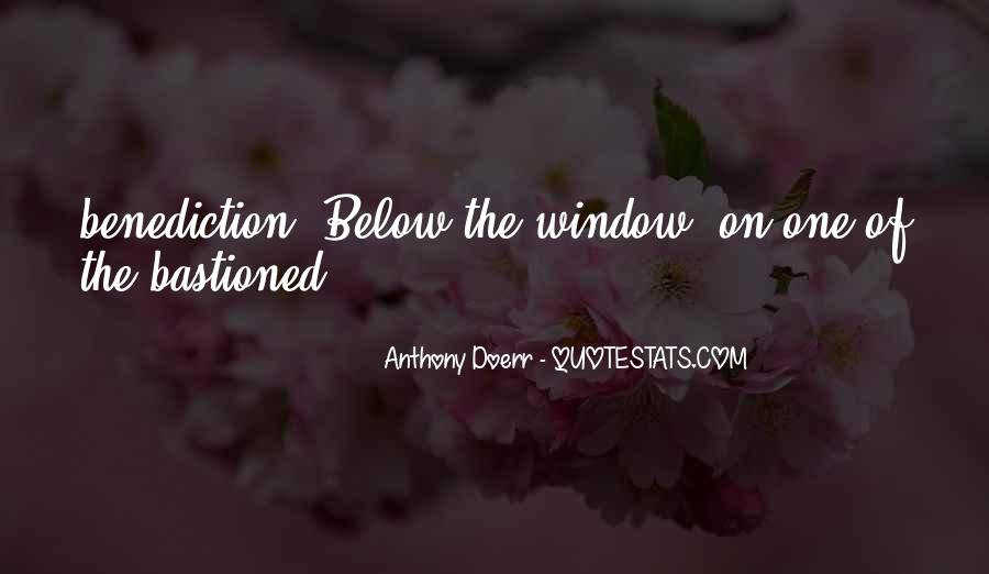 Quotes About Benediction #1022062
