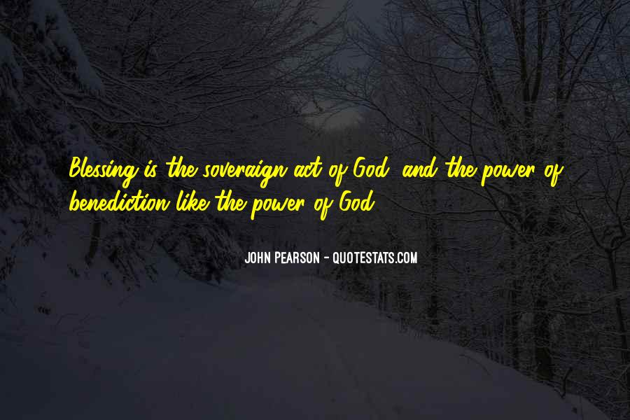 Quotes About Benediction #1122011