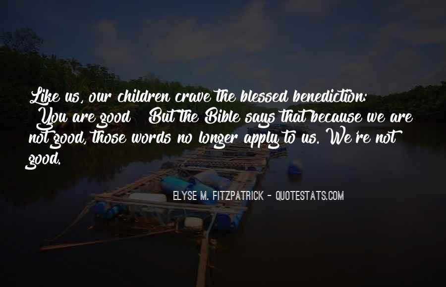 Quotes About Benediction #1212472