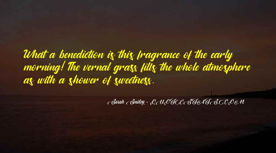 Quotes About Benediction #1513029