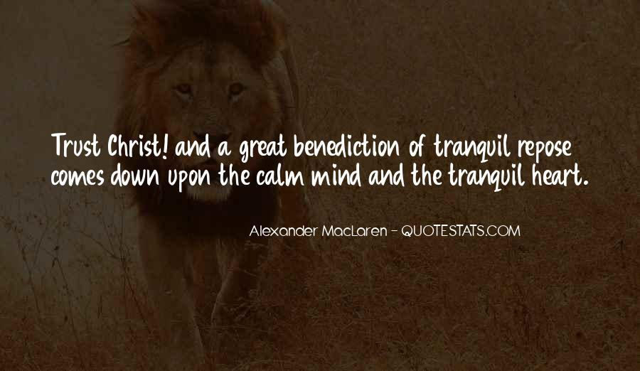 Quotes About Benediction #1695088