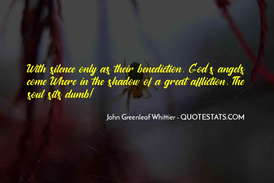 Quotes About Benediction #1858107
