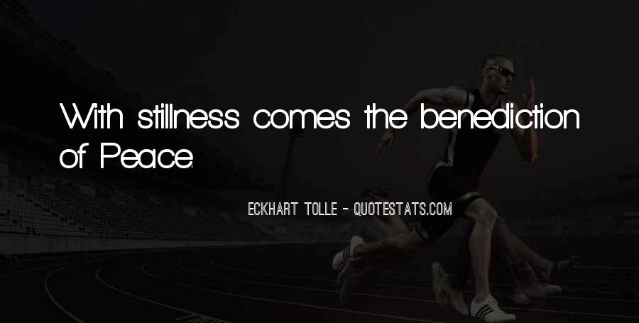 Quotes About Benediction #273246