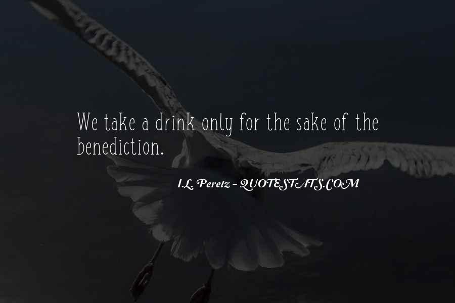 Quotes About Benediction #538750