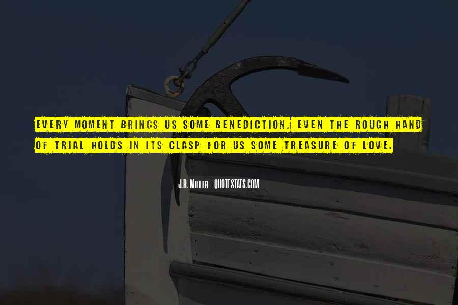 Quotes About Benediction #563433