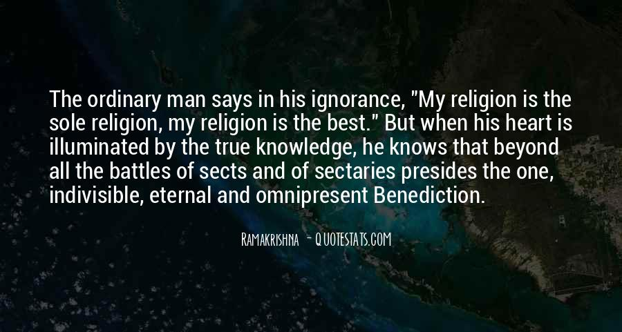 Quotes About Benediction #572968