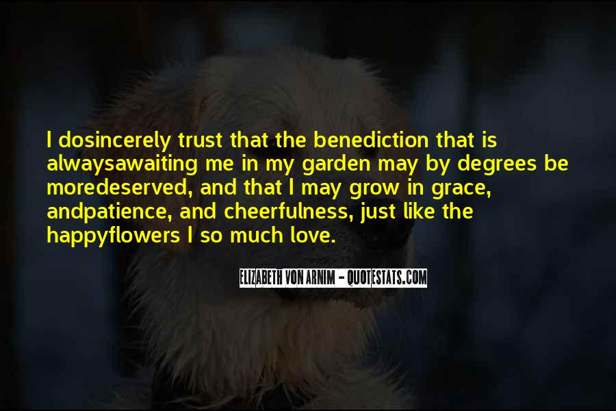 Quotes About Benediction #682879
