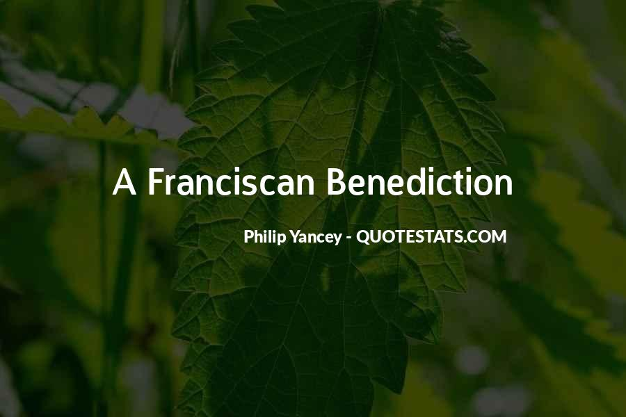 Quotes About Benediction #714382