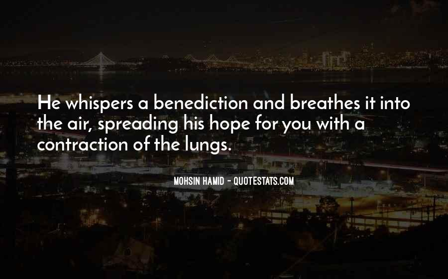 Quotes About Benediction #941600