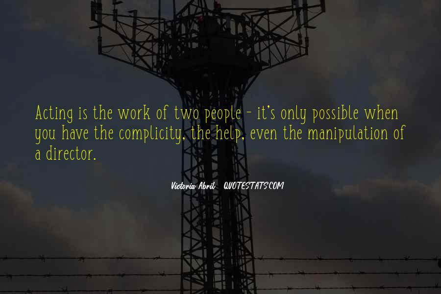 Quotes About Complicity #413852